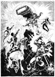 Re-Legion commission. by Goldmanpenciler