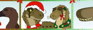 A Dinosaur Christmas Chronicles by DragonDogFilmsG
