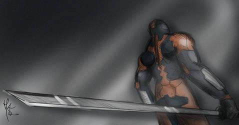 Metal Gear Solid - Gray Fox by Supervixen89