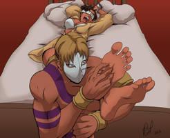 Chun-Li Loses the Battle by Bad-Pierrot