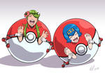 Pokeball tickles part 2 by Bad-Pierrot