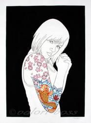 Jillian's Tattoo by GaudyOctopus