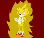 Fleetway Sonic lineless by Sonicteers