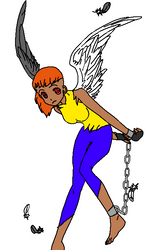 Ava, the demonic angel by Sonicteers