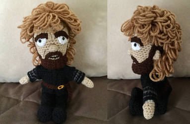 Tyrion Lannister doll by JBcrochetwizard