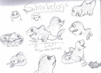 sharkdogs by cheeserox
