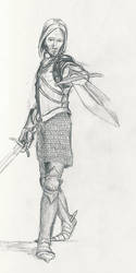 Man with Two Swords by MedievalPete