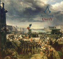 Assassin's Creed Unity  - Arno Dorian was here.. by Zeioh
