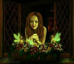Magic Flowers by ArtbyValerie