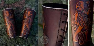 Celtic Blacksmith's Bracers by Nymla