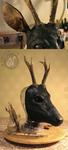 Deer WIP by Nymla