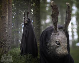 Creepy Rabbit Mask by Nymla