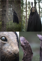 Creepy Rabbit Mask #2 by Nymla