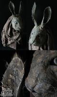 Sneaky Creepy Rabbit by Nymla