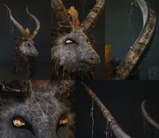 Baphomet Goat Mask by Nymla