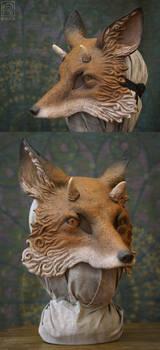 It's a horned fox. by Nymla
