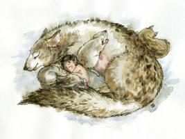 Mowgli by Lizavetaart