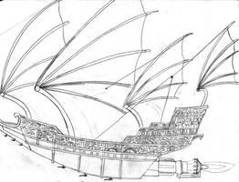 Treasure Planet Ship II by Edward-Smee