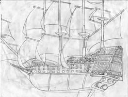 WIP Flint Galleon by Edward-Smee