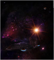 USS Voyager by Hameed