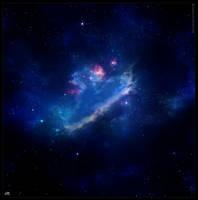 Swan Nebula by Hameed