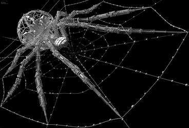 Arachnid  - Geometry detail (@~7Kpx ) by Hameed