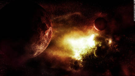Nebulosity - Fire by Hameed