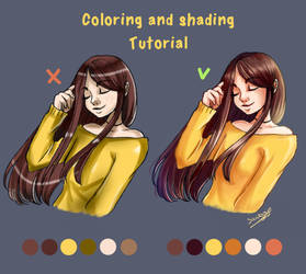 Tutorial: Coloring and Shading + VIDEO by Saviroosje