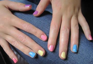 Pretty Pastel Nails by soyoubeauty