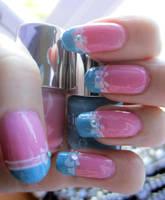Pastel Bow Manicure by soyoubeauty