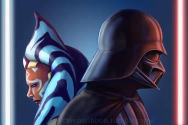 Ahsoka Vader by NatRodgers