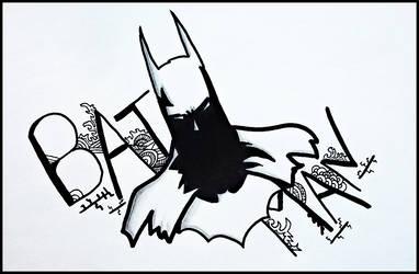 Dark Knight by JoelLorenzetti