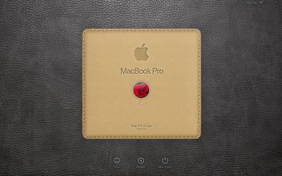login screen MacbookPro by amirkh