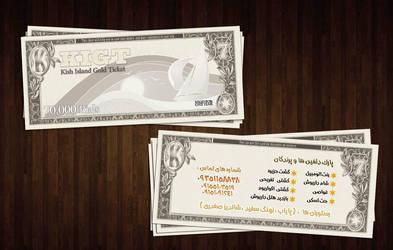 advertising ticket by amirkh