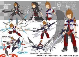 Roxas Idea for FUN by ZafA-02