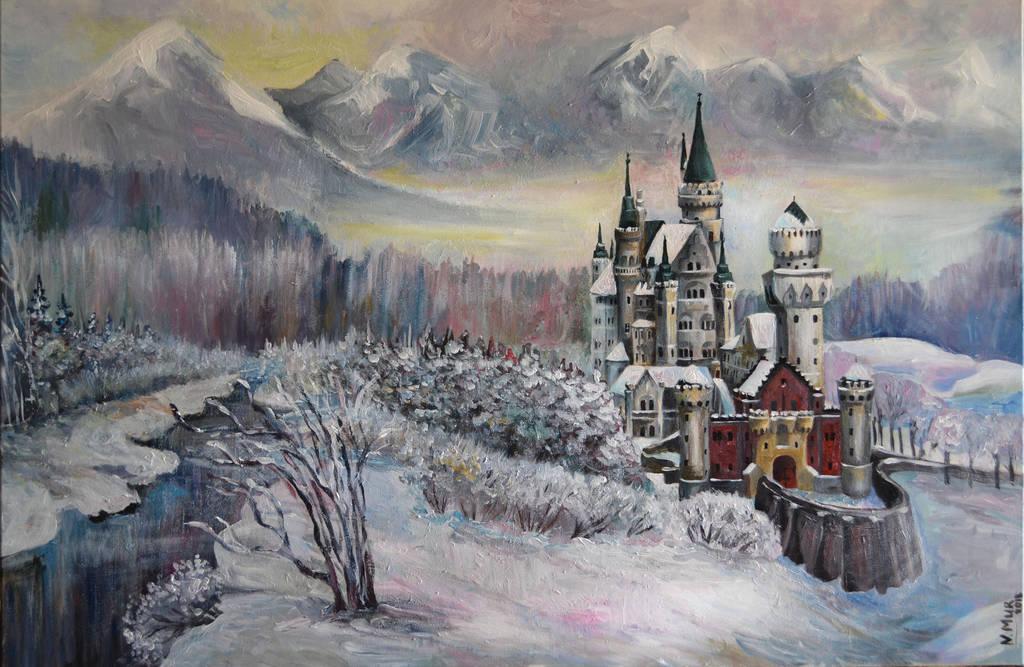 Neuschwanstein Castle by Natamur