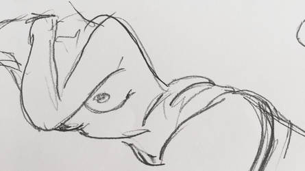 Female nude figure  by teejyart