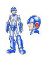 Megaman DLN-001 by kanefinger1939