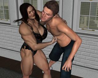 Domestic Wrestling 3 by ironb667