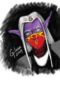 Gilnor from World of Warcraft by skycladstrega