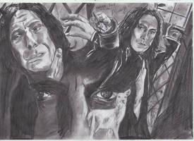 'The bravest man I ever knew' Severus Sn by MelieseReidMusic