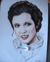 Princess Leia by MelieseReidMusic