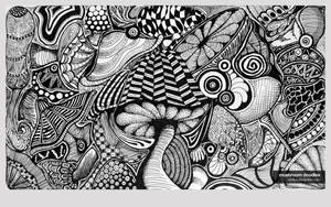 Mushroom Doodles by vedica