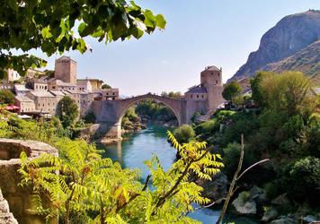 Stari Most - Mostar Koprusu . by fiyonk14