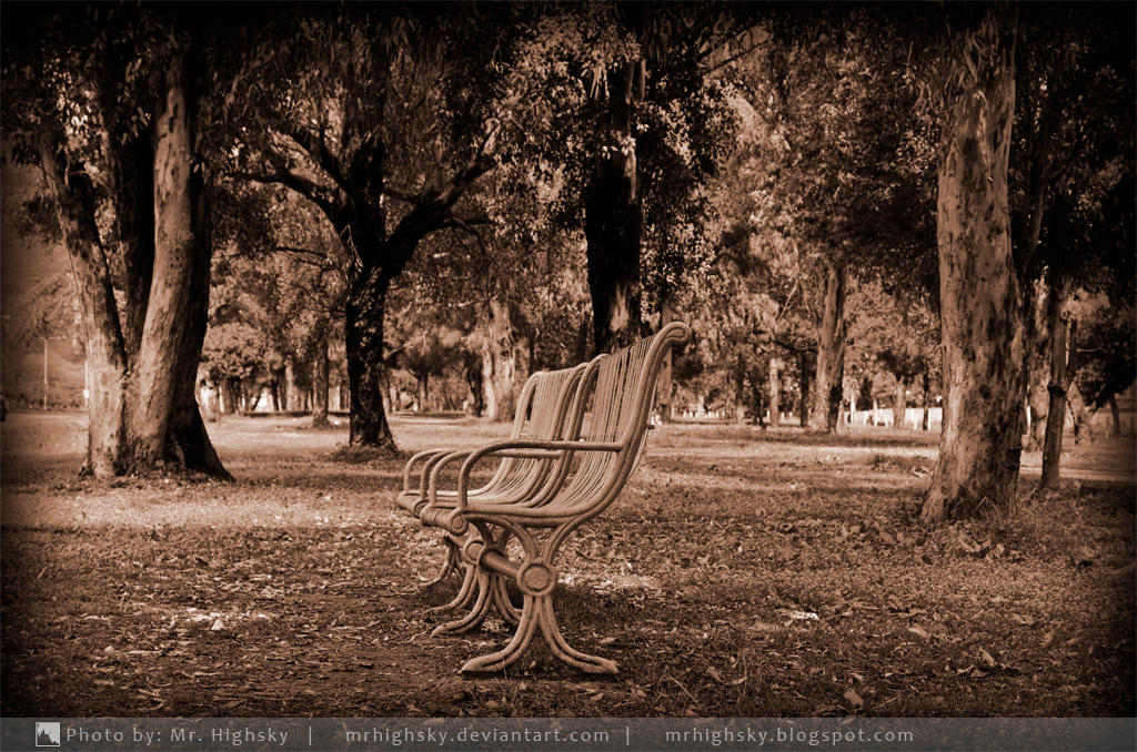 Old Bench by MrHighsky