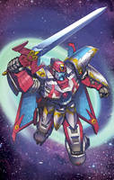 Vector Prime: Transformers Cybertron/Galaxy Force by ZeroMayhem