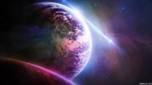 SpaceBackground (imac 27') by ABradleyGFX