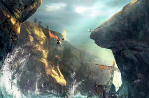 Leap of faith by Oafnugget