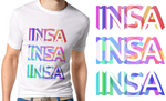 Concours INSA Shop Lyon - Perspectively multicolor by Phen0m77