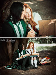 Lily Evans and Severus Snape by Lilta-photo